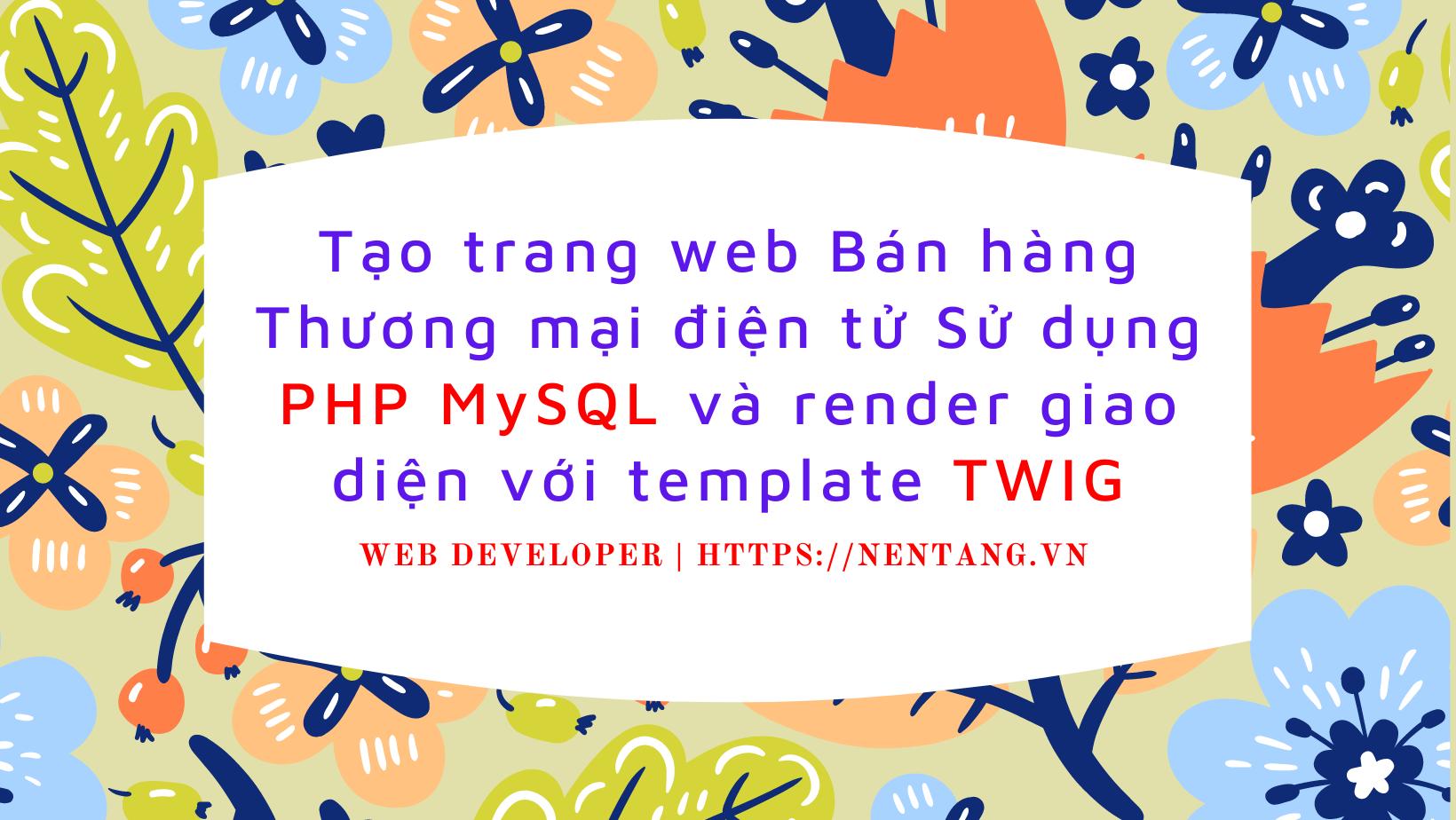 PHP-MySQL-va-template-TWIG